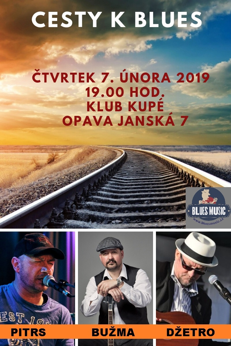 Bužma, Pitrs, Džetro: Cesty k blues